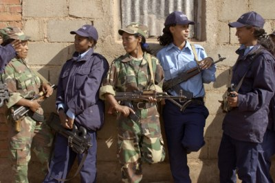 Eritrean police and army veterans (file photo).
