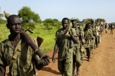 Sudan soldiers (file photo).