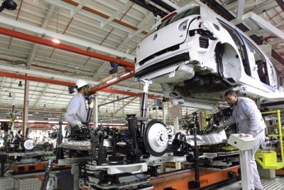 The Volkswagen South Africa plant in Uitenhage is the largest vehicle factory in Africa.
