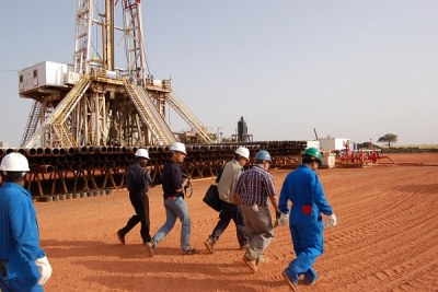 Most of Sudan's oil reserves are in the south...