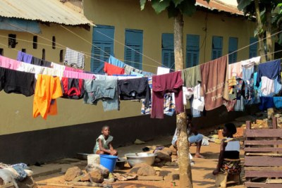 Living conditions in Ghana.
