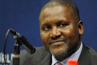 Aliko-Dangote, the richest man in Africa.