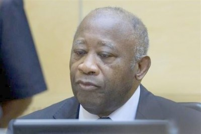 Laurent Gbagbo at the ICC.