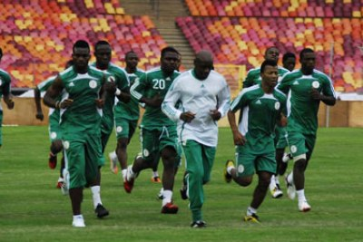 Training Nigerian Eagles