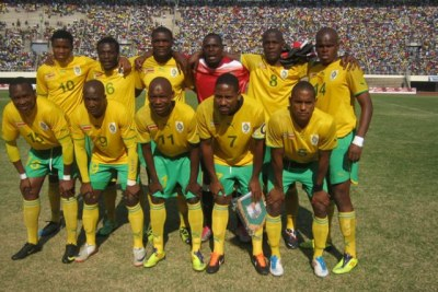 Zimbabwe national soccer team 'The Warriors' (file photo).