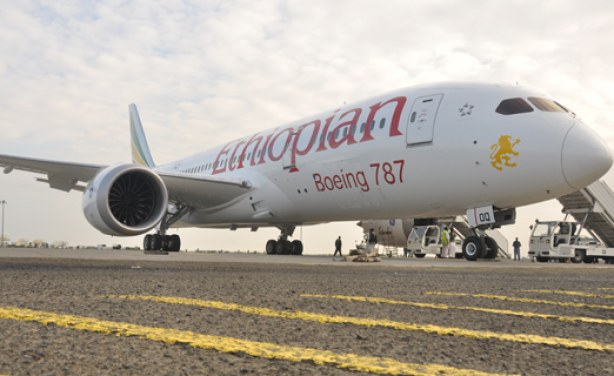 Ethiopian Airlines Adds Largest Plane