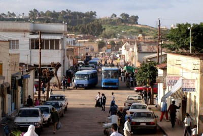 A street in Asmara, Eritrea (file photo).
