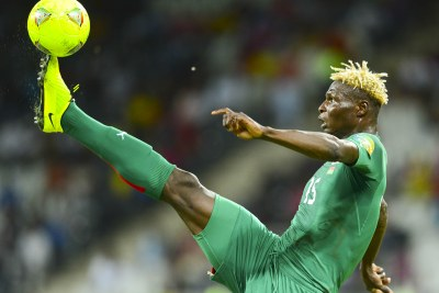 Man of the match, Aristide Bance of Burkina Faso, scored one of his side's goals and one of their penalties in the shoot-out.