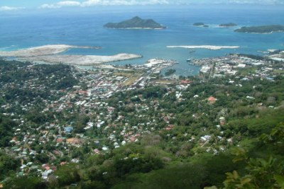 Victoria, capital of Seychelles