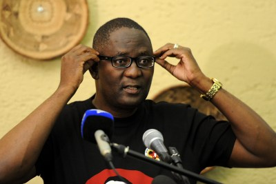 Suspended Cosatu general secretary Zwelinzima Vavi (file photo).
