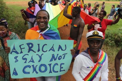 'Church is for love': Gay Ugandans send message to Pope.