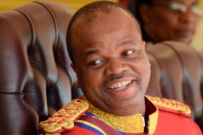 His Majesty King Mswati III (file photo).