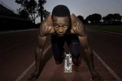 South African Athlete Akani Simbine (File photo).