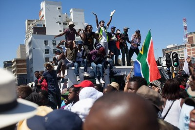 #FeesMustFall protesters (file photo).