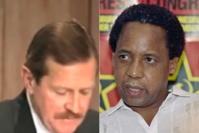 Clive Derby-Lewis and Chris Hani