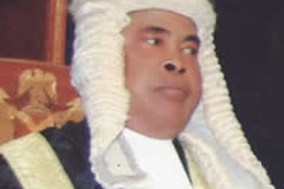 Justice Sylvester Ngwuta (file photo).
