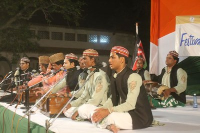Qawwali performance (file photo)