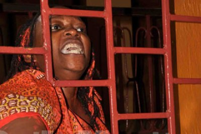 Makerere academic Stella Nyanzi (file photo).
