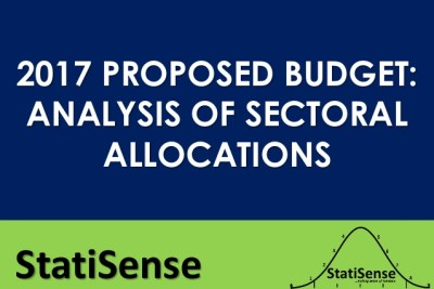 2017 proposed budget analysis - sectoral allocations