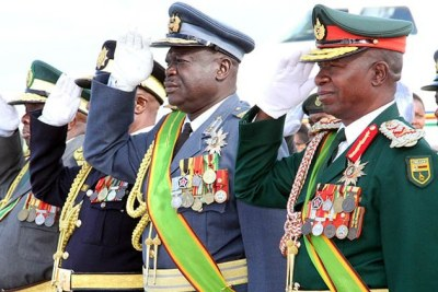 Zimbabwe's Service chiefs (file photo).