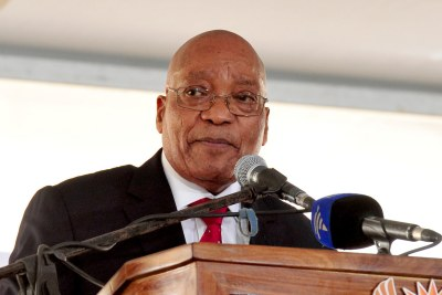 President Jacob Zuma at Freedom Day 2017 celebrations.