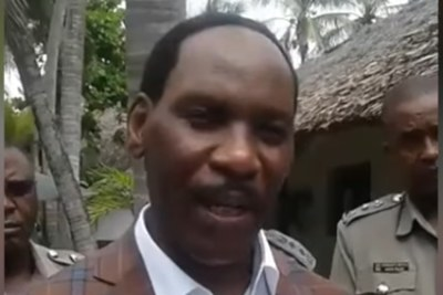 Kenya Film Classification Board chief executive Ezekiel Mutua.