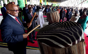 Tanzania Courts Zuma to Access BRICS Money for Rail Projects