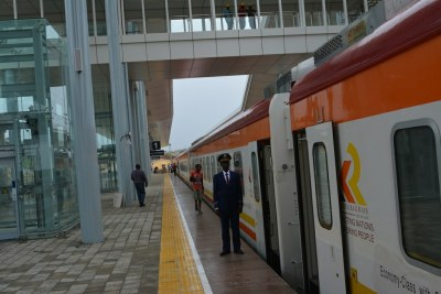 Kenya's first Standard Gauge Rail train will travel between Nairobi and Mombasa.