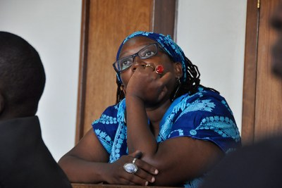Makerere University researcher Stella Nyanzi.