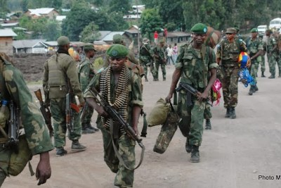 DR Congo forces