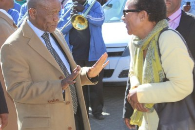 Thomas Thabane and wife Lipolelo Alice Thabane