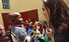 U.S. Actress Angelina Jolie in Kenya for World Refugee Day