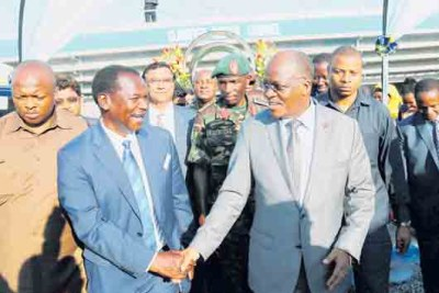 President John Magufuli asked the long-serving head of the Dar es Salaam Water and Sewerage Authority Archard Mutalemwa, to step down voluntarily to salvage his reputation.