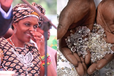 First Lady Grace Mugabe (file photo).