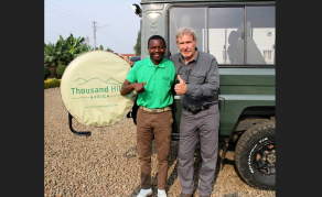 U.S. Actor Harrison Ford Spotted in Rwanda