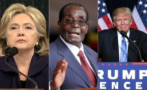 Trump a Better Devil Than Cruel Clinton, Says Mugabe