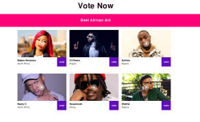 Best African Act at MTV Music Awards - Who Will Reign Supreme?
