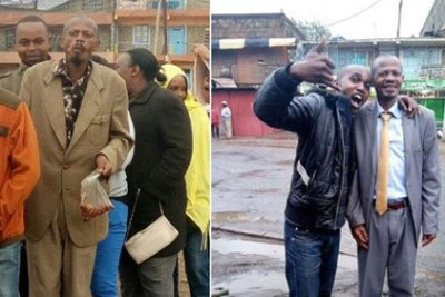 Then and now: Martin Kamotho, better known as the Githeri Man.