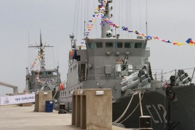 Two state-of-the-art Chinese-built naval vessels commissioned President Hage Geingob.