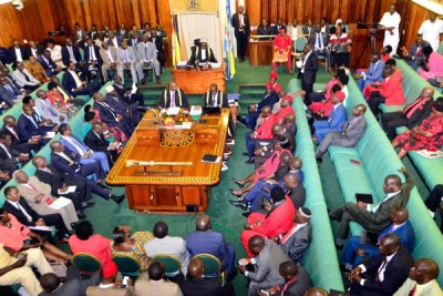 Parliament in session in December 2017.