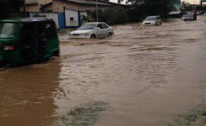 Torrential Rain Causes Flooding in Dar es Salaam