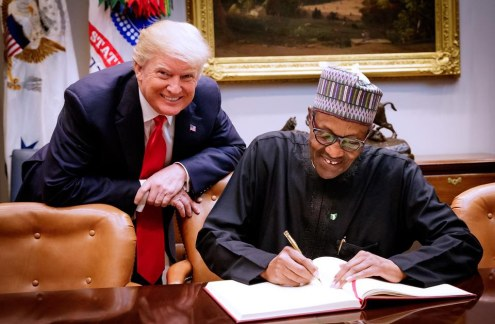 Buhari to meet Trump in Washington