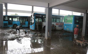 Report Ignored, Now Regular Flooding at Dar es Salaam Bus Centre