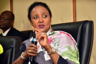 Education Cabinet Secretary Amina Mohamed.