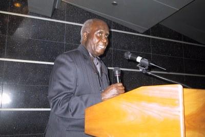 Former president Kenneth Kaunda (file photo).