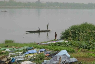 People on Niger River