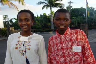 Rwandan kids.