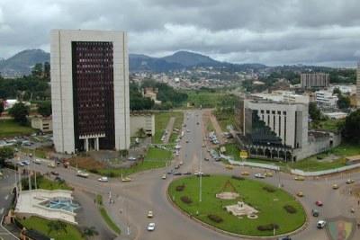 Une vue sur Yaoundé - Cameroun