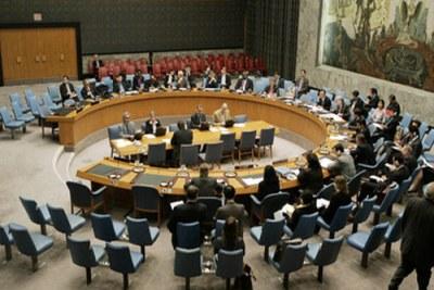 Conseil de sécurité de l'Onu autour de la question du Sahara occidental.