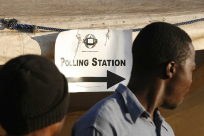 Mbare polling (file photo).